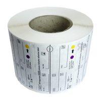 RAGOPLAN H2O2 Indikatoretiketten